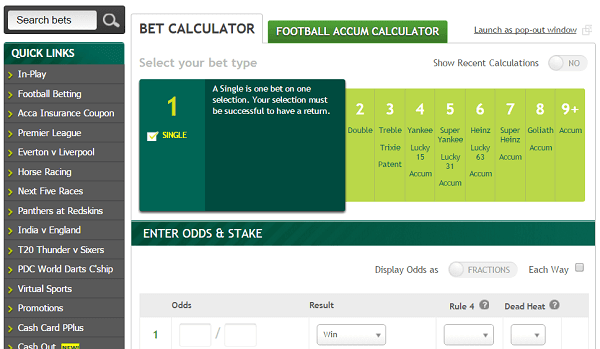 football accumulator calculator paddy power