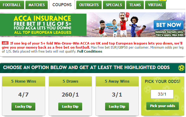 Paddy Power Coupon Football