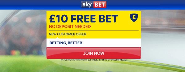 SkyBet Transfer Odds promotion