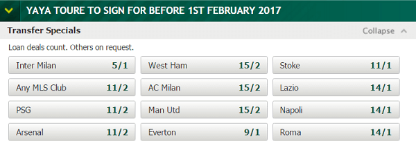 transfer betting