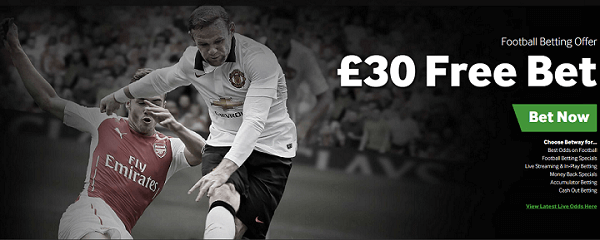 Betway Football No Deposit Bonus