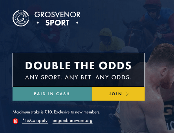Grosvenor Double Odds