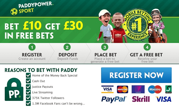 Paddy Power Football Betting